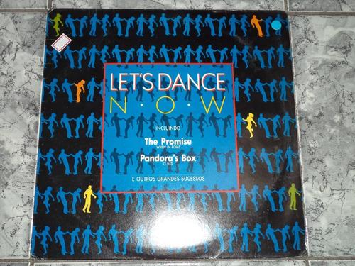 lp/disco house&dance - let's dance now (lindoo -capa/disco)