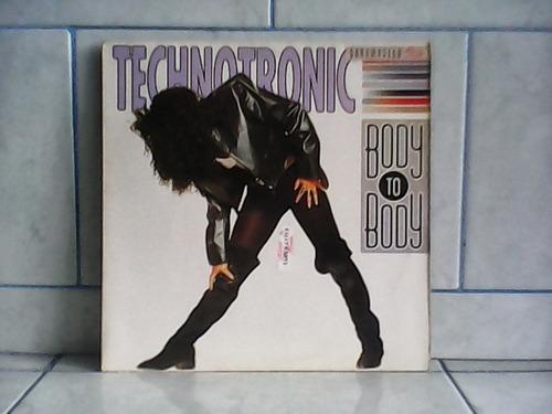 lp/disco house&dance - technotronic - body to body