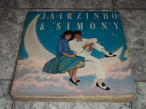 lp/disco infantil - jairzinho e simony