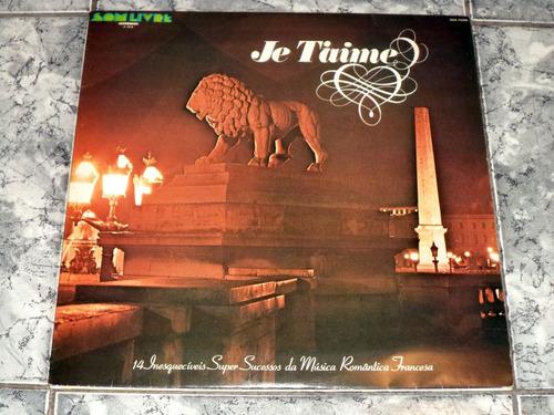 lp/disco ital/var - je t'aime - 14 sucessos   ( lindooo )