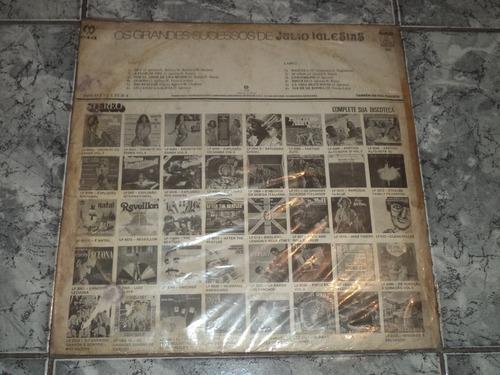 lp/disco ital/var - os grandes sucessos - julio iglesias