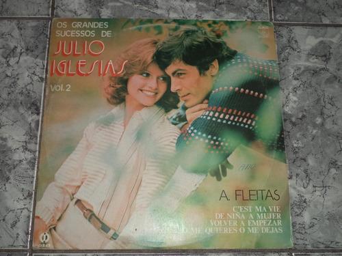 lp/disco ital/var - sucessos de julio iglesias - vol.2