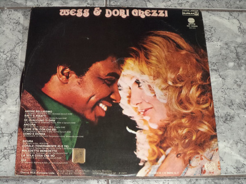 lp/disco ital/var - wess & dori ghezzi - amore bellissimo