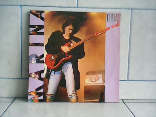 lp/disco mpb/var - marina todas ao vivo 1986