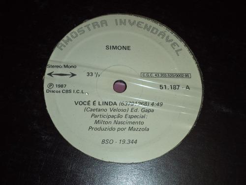 lp/disco mpb/var - promo simone - você é linda