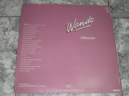 lp/disco mpb/var -  wando promo - obsceno