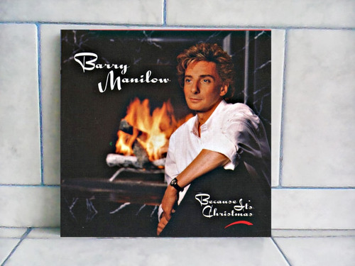 lp/disco popvar - barry manilow - because its christmas