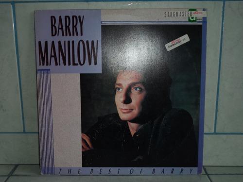 lp/disco popvar - barry manilow - the best of barry