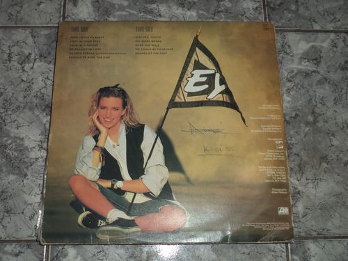 lp/disco popvar - debbie gibson - electric youth