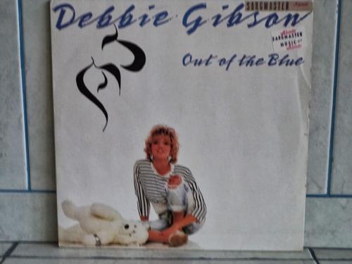lp/disco popvar - debbie gibson - out of the blue