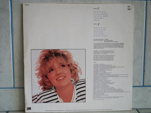 lp/disco popvar - debbie gibson - out of the blue