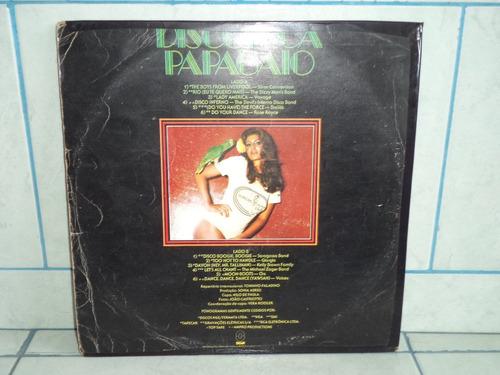 lp/disco popvar - discoteca papagaio - 1978