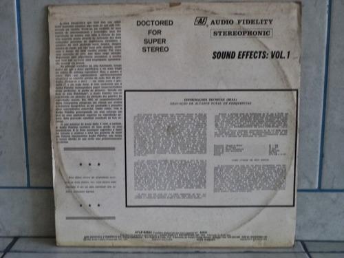 lp/disco popvar - efeitos sonoros vol. 1