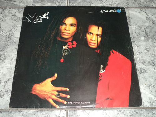 lp/disco popvar - milli & vanilli - all or nothing