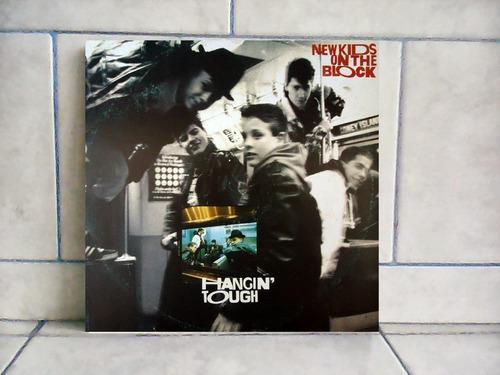 lp/disco popvar - new kids on the block - hangin tough