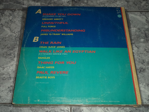 lp/disco popvar - remix hits - 2