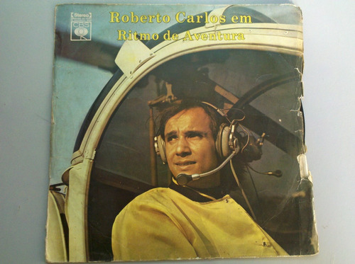 Lp/disco Roberto Carlos - Em Ritmo De Aventura. Vinil 1974