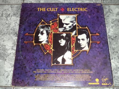 lp/disco rock - cult - drethe cult (1987) electric + enc