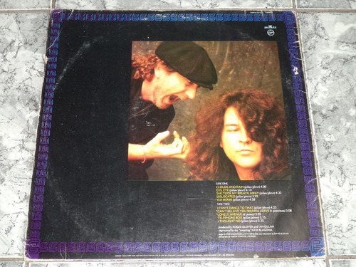 lp/disco rock - gillan & glover - accidentally on purpose