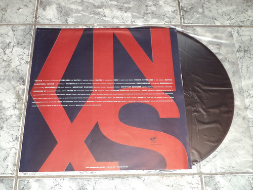 lp/disco rock - inxs - x  ( com encarte )