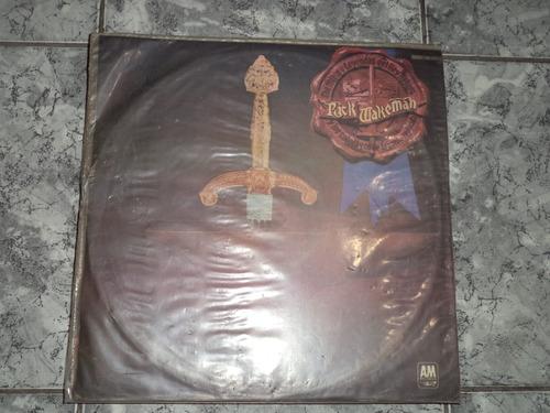 lp/disco rock -rick wakeman - los mitos y leyendas del rey