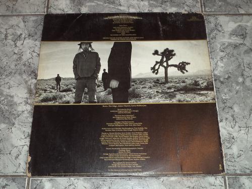 lp/disco rock - u2- the joshua tree  ( sem enc)