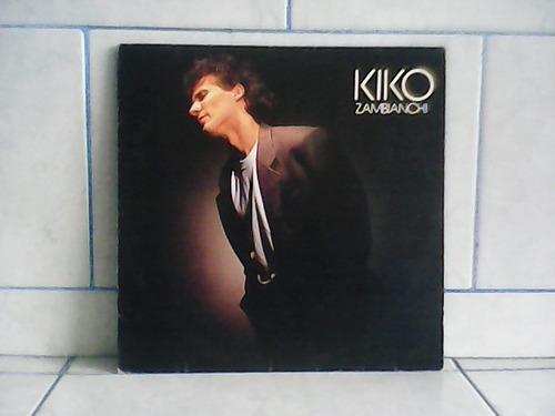 lp/disco rockpop - kiko zambianchi - 1987 estreia