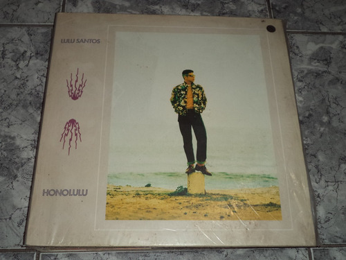 lp/disco rockpop - lulu santos - honolulu ( com enc )