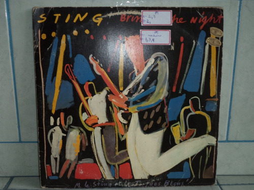 lp/disco rockpop - sting - bring on the night - duploc/ en