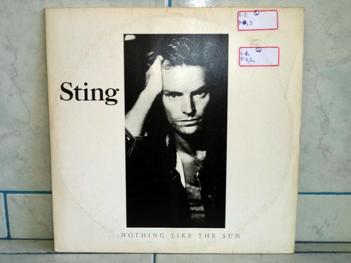 lp/disco rockpop sting - nothing like the sun - 2 lps/c- enc