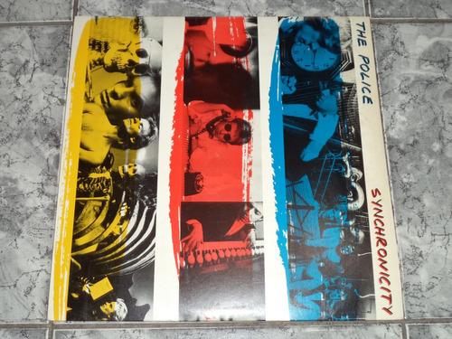 lp/disco rockpop - the police - synchronicity
