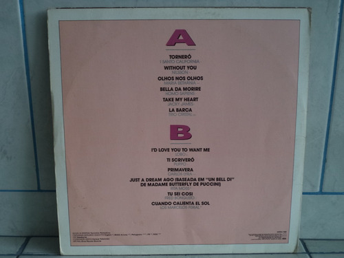 lp/disco rom/var - amore, amor, my love - 1988