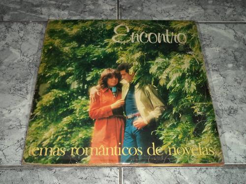 lp/disco rom/var - encontro -temas romanticos de novelas