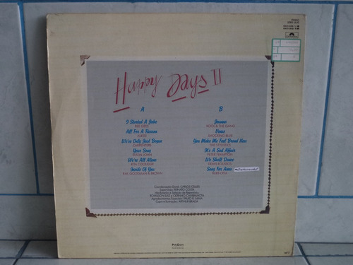 lp/disco rom/var - happy days 2 - flashbacks intern