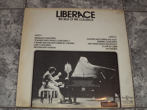 lp/disco rom/var - liberace - the best of the