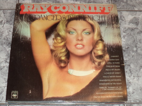 lp/disco rom/var - ray conniff - strangers in