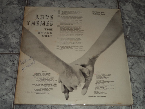lp/disco rom/var - the brass ring love themes