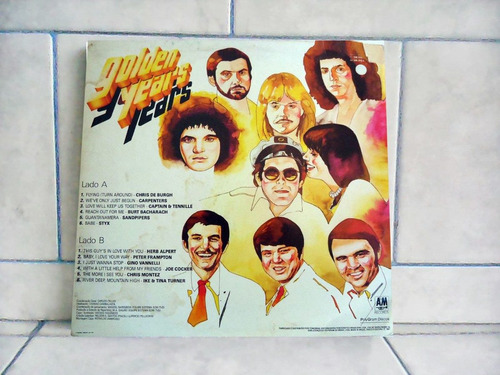 lp/disco rom/var - the golden years - seleção - 1987