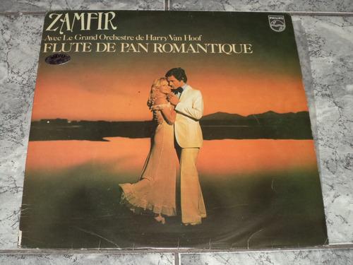 lp/disco rom/var - zamfir - flute de pan romantique