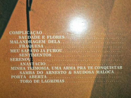 lp/disco samba - 2001 uma odisséia no samba