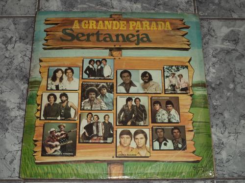 lp/disco sertanejas - a grande parada sertaneja  ( 1982 )