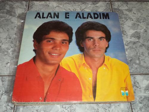 lp/disco sertanejas - alan e aladim - meu companheiro