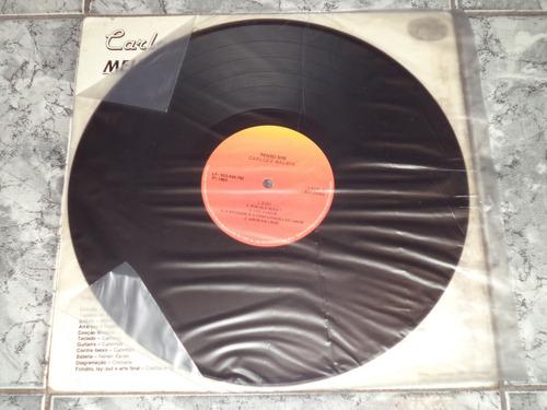 lp/disco sertanejas - carlos & walmir - meu caso é você