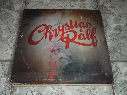 lp/disco sertanejas - chrystian & ralf - louco por ela