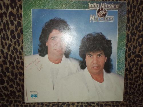 lp/disco sertanejas - joão mineiro e marciano - 1989