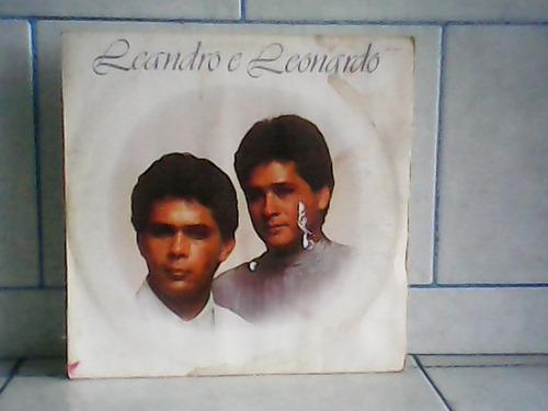 lp/disco sertanejas - leandro e leonardo - 1989