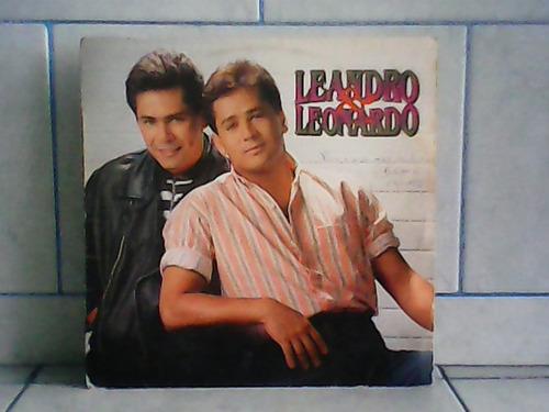 lp/disco sertanejas - leandro e leonardo (1992)