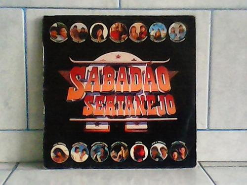 lp/disco sertanejas - sabadão sertanejo -  1991