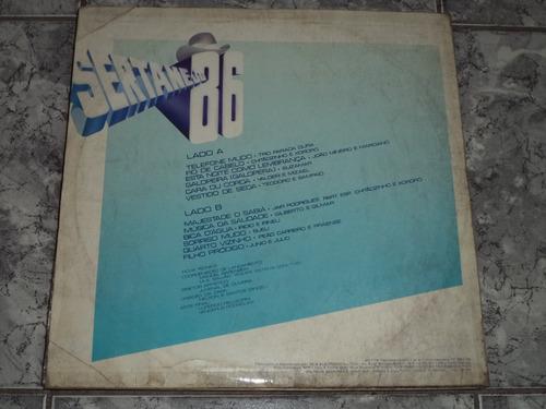 lp/disco sertanejas - sertanejo 86