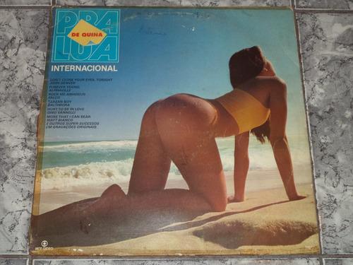 lp/disco - trilha internacional de quina pra lua